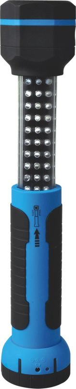 Blue Cordless Rechargeable Work Light , Multifunction Led Work Lights Rechargeable