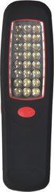AA Battery Black Rechargeable Automotive Work Light With Hook 110g